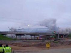 Texas Stadium Demolition - The Epic Dallas Cowboys' Texas Stadium Implosion! - YouTube