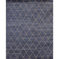 Bonaparte Blue/Grey - (6' x 9') - ELTE