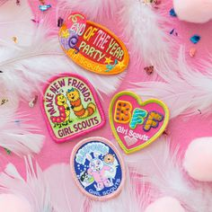 Celebrate another amazing troop year with these fun patches!