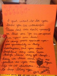 Just Made My First Love Letter To A Complete Stranger I Have A