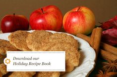 Recipes We Love: Apple Cinnamon Cookies | Seventh Generation Great with Hickory Hill Orchard apples