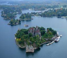 Boldt Castle, Heart Island, St. Lawrence River