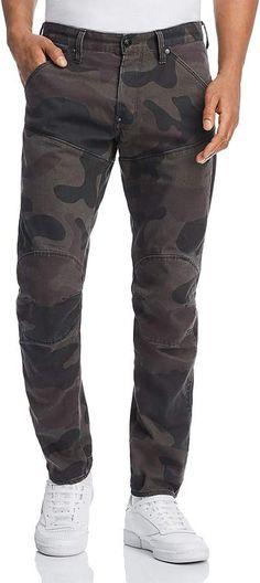 G-STAR RAW 5620 3D Slim Fit Jeans in Asfalt Camo Camo Jeans, G Star Raw, Slim Jeans, Parachute Pants, Fitness, 3d, Shopping, Fashion, Moda