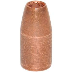 9mm Luger .355 Diameter 124 Grain Solid Copper Hollow Point (SCHP Projectile) 250 Count