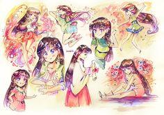 Sailor Mars - Rei Hino by Izunichi.deviantart.com on @DeviantArt