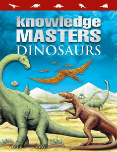 A great reference book for primary school children studying dinosaurs.  Knowledge masters dinosaurs book reviewed by Everything Dinosaur.