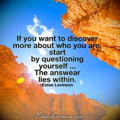 The right question will lead you to the right answer.   Much love  Estee 💟  #love #coaching #enlightenment #soul  #spirituality #yoga #exercise #peace #winning #passion #hope #inspiration #confidence #success #relationship  #quotes #motivationalquotes #meditation #mastery #mindfulness #healing #happiness #life #grow #create #change #challenge #lifestyle #tips