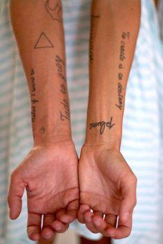 I ♡ Sub_Culture :: tattoo sample :: 참고하세요