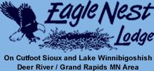 Minnesota's family resort on Cutfoot Sioux and Lake Winnie - Eagle Nest Lodge  $1500/wk, arts crafts, nature walks for preschoolers