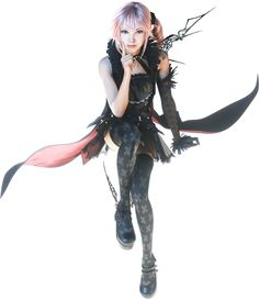 final fantasy 7 characters pictures | ... Returns: Final Fantasy XIII Screenshots Featuring New Character Lumina