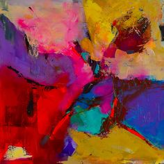 Shades Of Colors - Art By Elise Palmigiani Painting by Elise Palmigiani