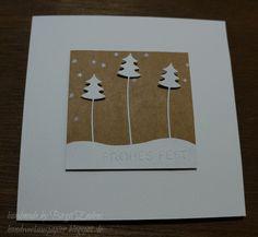 HandWerk aus Papier: Weihnachten am Stiel - der Tannenbaum
