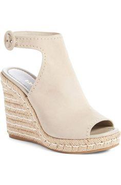 d19c41e43b9 Prada Ankle Strap Espadrille Wedge Sandal (Women) Espadrille Wedge