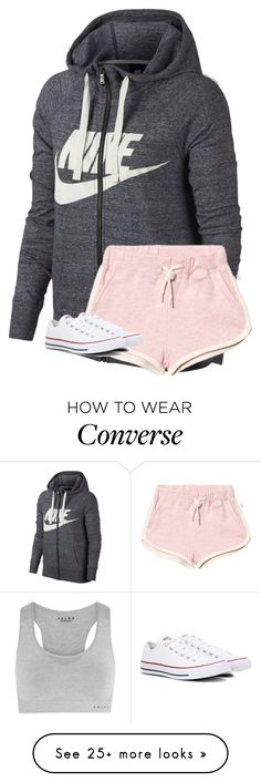 How to Wear Converse Lazy Day Outfits, Cute Comfy Outfits, Outfits For Teens, Cool Outfits, Summer Outfits, Casual Outfits, Outfits With Converse, Nike Outfits, Sport Outfits
