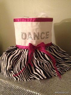 Zebra Tutu Dance Bag by Tutunyou on Etsy, $30.00 #tutunyou