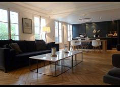 Salon haussmanien authentique - 11 astuces de pro pour adapter l'ancien à un mode de vie actuel - Elle Décoration