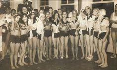 Carnaval no Clube Sete de Setembro - Morretes - Paraná - Brasil. Década de 70.