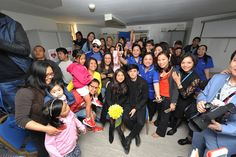 LONDON- Nadine Lustre and James Reid, more popularly known as the JaDine love team, visited Ashford and St. Peter's Hospitals NHS Foundation Trust to pay tribute to Filipino nurses looking af...