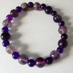 Amethyst Fluorite Bracelet from NanaRei USA for $15 on Square Market