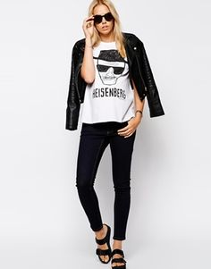 Image 4 ofASOS Maternity T-Shirt With Breaking Bad Heisenberg Print @summerbailey