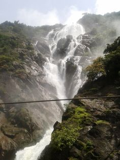 Goa Travel, Waterfall, India, How To Plan, Facebook, Photography, Outdoor, Beautiful, Outdoors