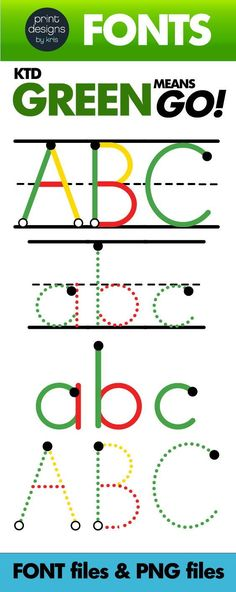 Color coding helps students with learning disabilities such as dyslexia identify letters and words easier. Full uppercase and lowercase alphabet, numbers and punctuation is included in four styles. Check out pdkris on TPT for more custom font bundles. #video #font #backtoschool #kindergarten #preschool#printdesignsbykris Learning Sight Words, Sight Word Activities, Writing Activities, Abc Font, Learning Disabilities, Teaching Writing, Punctuation, Teacher Resources, Elementary Schools