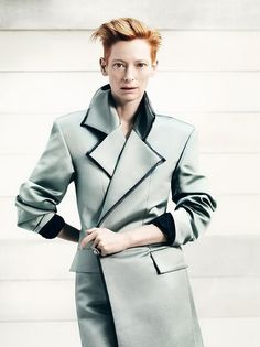 Tilda Swinton by Bryan Adams.   Yes Bryan is photographer as well.