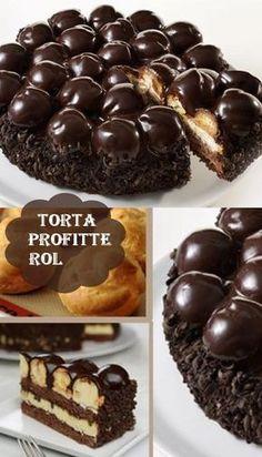 TORTA PROFITTEROL