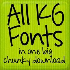 Font fabulous find