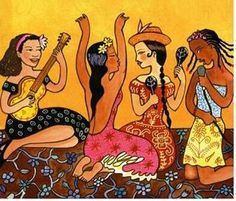 Women Of Latin America CD from Putumayo, available to order from Four Dogs Music. Women Of Latin America features music by many of Latin America's greatest female artists. World Music, Music Mix, Dance Music, Latin Music, Cd Cover, Album Covers, Music Images, Music Classroom, Naive Art