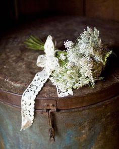 using lace ribbon