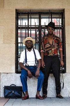 O Estilo de Loux o Guru Vintage da Namíbia | Estilo Black - Moda para Homens Negros