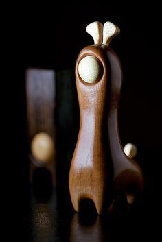 PEARGIR – Wooden Designer Toy by pepe by Matthew Dartford