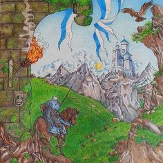 Highgarden from Game of Thrones coloring book   game of thrones ...