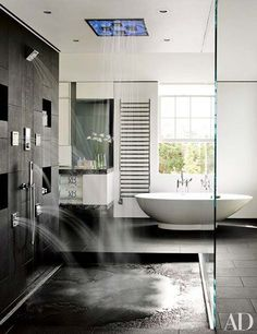 If you want to make a shower look cool and unique, create a rain shower bathroom would be right choice for you. Rain shower can make you have some awesome bathing experience, and is also a place where you can quickly relax after a hard working day. Here we have gathered 27 amazing rain shower …