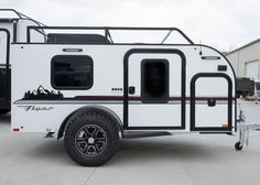 We are the only major door manufacturer with no minimum order. Located in Nappanee IN. Small Camper Trailers, Off Road Camper Trailer, Small Trailer, Trailer Build, Travel Trailers, Expedition Trailer, Overland Trailer, Off Road Teardrop Trailer, Homemade Trailer