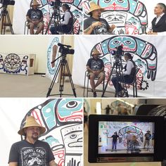 Thanks for the help & a great interview/ visit @robertpictou  @githayetsk  NAD2016 in Kitsumkalum, BC!! Looking forward to being in Kitsumkalum for National Aboriginal Day Tuesday June 21st, 2016 11am-2pm Kitsumkalum Hall  We will have two 45 minute performances and one 20 minute performance to help raise funds for their Sm'algyax (Tsimshian language) focused primary and secondary school! Wai wah!!