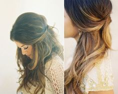 Just have to grow my hair out Bride Hairstyles, Messy Hairstyles, Pretty Hairstyles, Hair Milk, Bridal Hairdo, Ombre Hair, Hair Dos, Hair Inspiration, Beauty Hacks