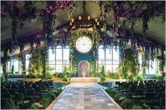 Whimsical Wedding Bliss. O this would be a dream!