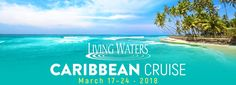 "Join the Living Waters Caribbean Cruise on March 17-24, 2018. The conference theme will be ""What is the Gospel?"" and include speakers Ken Ham, Ray Comfort, Emeal (""E.Z."") Zwayne, and Mark Spence."