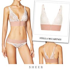 Stella McCartney BELLA ADMIRING SOFT CUP BRA from SHEER - BIKINI: https://www.sheer.com.hk/products/bella-admiring-lace-bikini