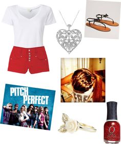 """""""pitch perfect"""" by ashleykl ❤ liked on Polyvore"""