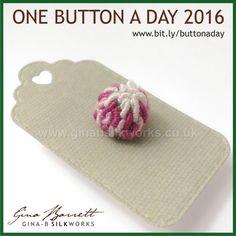 Day 190: Clover #onebuttonaday by Gina Barrett
