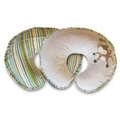 Boppy Pillow with Luxe Slipcover, Monkey --- http://ilik.us/1c1