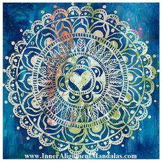 Inner Alignment Mandala by Michelle Geoffroy