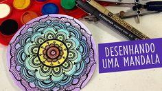 Desenhando uma Mandala #1 ❉ Drawing a Mandala #cristinaduarte07 #mandala #encomenda