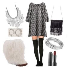 """""""Dance the Night Away with Boetis!"""" by bearpawstyle on Polyvore featuring H&M, Bearpaw, Lucky Brand and Worthington"""