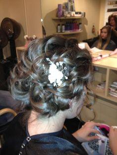 Wedding undo -Jody's Flair for Hair Wedding Updo, Wedding Hairstyles, Wedding Stuff, Wedding Ideas, Beauty Salons, Hairdressers, I Feel Pretty, Spas, Stylists