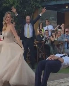 Magician Groom Put Under A Spell By His Bride During Wedding Dance Justin Willman Gets