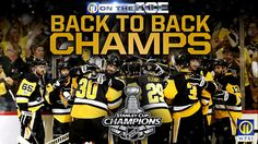 Image result for sports pen guins win the stanley cup for the fifth time